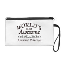 World's Most Awesome Assistant Principal Wristlet