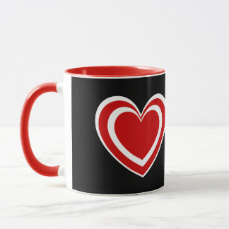 World's Most Awesome AUNT Hearts V03J7 Mug