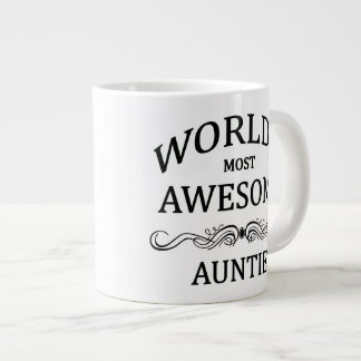 World's Most Awesome Auntie Giant Coffee Mug