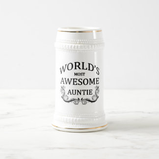World's Most Awesome Auntie Mugs