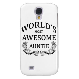 World's Most Awesome Auntie Samsung S4 Case