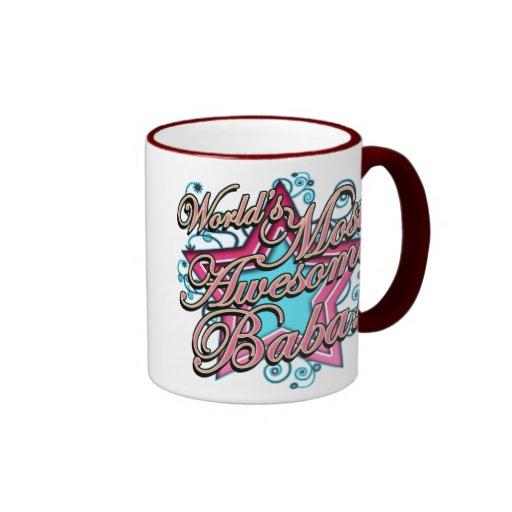 Worlds Most Awesome Baba Coffee Mug