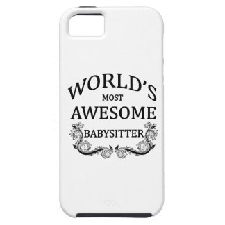 World's Most Awesome Babysitter iPhone SE/5/5s Case