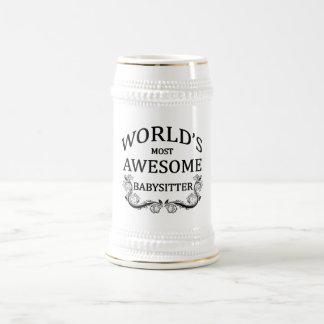 World's Most Awesome Babysitter Mugs