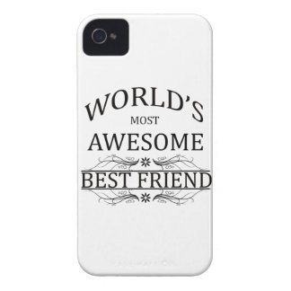 World's Most Awesome Best Friend Case-Mate iPhone 4 Cases