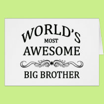 World's Most Awesome Big Brother Card