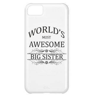 World's Most Awesome Big Sister iPhone 5C Case