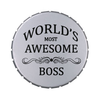 World's Most Awesome Boss Candy Tins