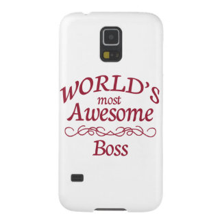 World's Most Awesome Boss Case For Galaxy S5