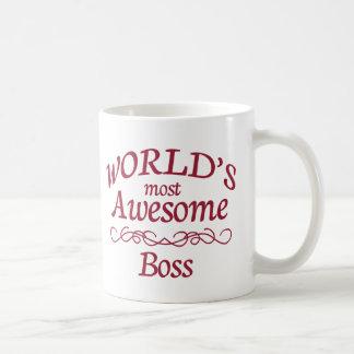 World's Most Awesome Boss Coffee Mug