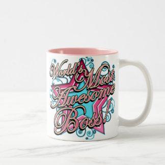 Worlds Most Awesome Boss Coffee Mug