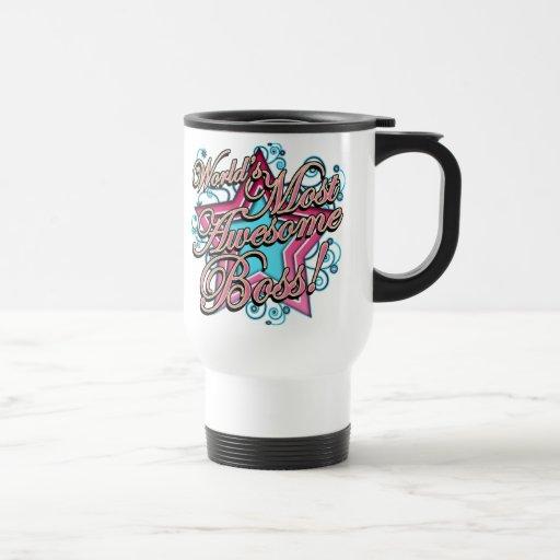 Worlds Most Awesome Boss Coffee Mugs