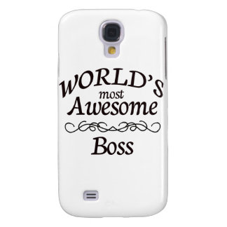World's Most Awesome Boss Samsung Galaxy S4 Case