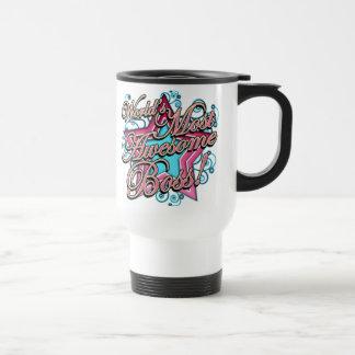 Worlds Most Awesome Boss Travel Mug