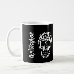 World's Most Awesome BOSS Zebra Skulls V06B Coffee Mug