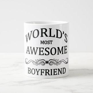 World's Most Awesome Boyfriend Giant Coffee Mug