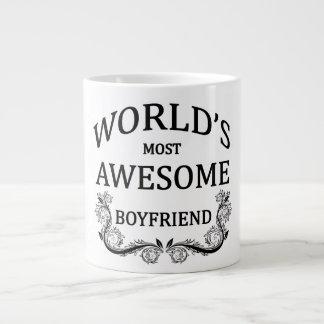 World's Most Awesome Boyfriend Large Coffee Mug