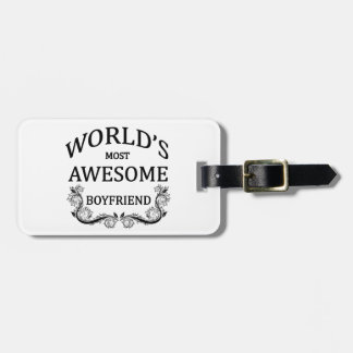 World's Most Awesome Boyfriend Bag Tags