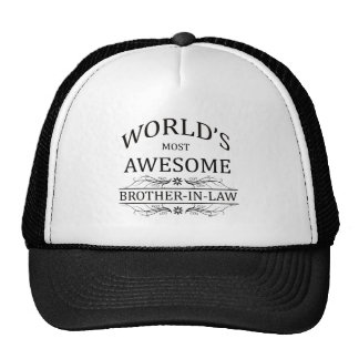 World's Most Awesome Brother-In-Law Mesh Hats