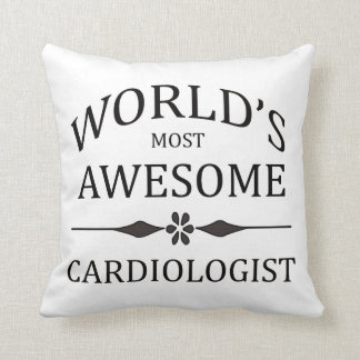 World's Most Awesome Cardiologist Pillow