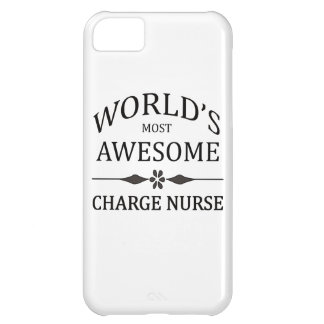 World's Most Awesome Charge Nurse iPhone 5C Covers