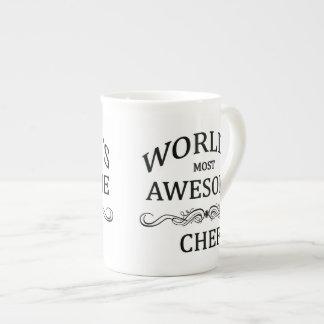 World's Most Awesome Chef Porcelain Mug