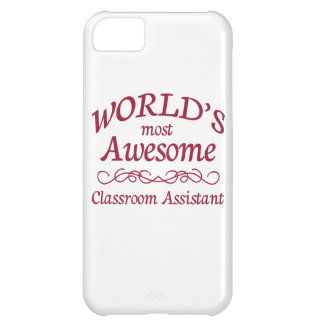 World's Most Awesome Classroom Assistant iPhone 5C Cover