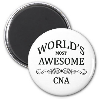 World's Most Awesome CNA Refrigerator Magnet