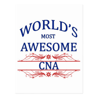 World's Most Awesome CNA Postcards