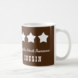 World's Most Awesome COUSIN Chocolate Custom C04 Coffee Mug