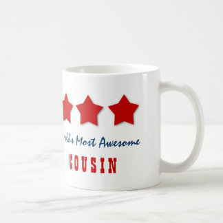 World's Most Awesome COUSIN Custom Name C04Z Mugs