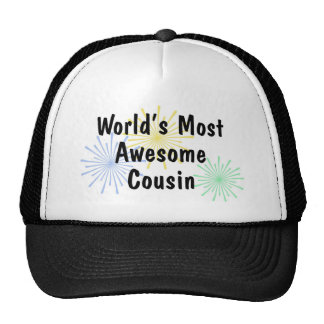 World's Most Awesome Cousin Hat