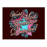 Worlds Most Awesome Dancer Postcards