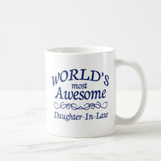 World's Most Awesome Daughter-In-Law Coffee Mug