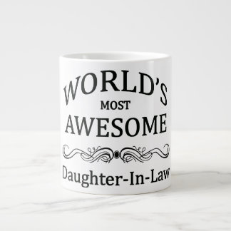 World's Most Awesome Daughter-In-Law Giant Coffee Mug