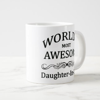 World's Most Awesome Daughter-In-Law Large Coffee Mug