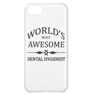 World's Most Awesome Dental Hygienist iPhone 5C Cover