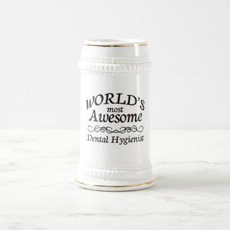 World's Most Awesome Dental Hygienist Coffee Mugs