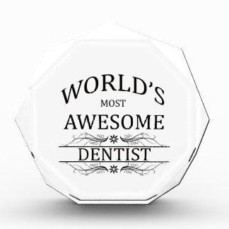 World's Most Awesome Dentist Acrylic Award