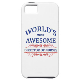 World's Most Awesome Director Of Nurses iPhone 5 Cases
