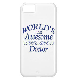 World's Most Awesome Doctor iPhone 5C Case