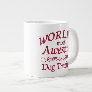 World's Most Awesome Dog Trainer 20 Oz Large Ceramic Coffee Mug