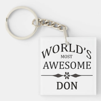 World's Most Awesome DON Keychain