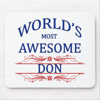 World's Most Awesome DON Mouse Pad