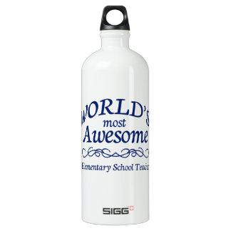World's Most Awesome Elementary School Teacher SIGG Traveler 1.0L Water Bottle