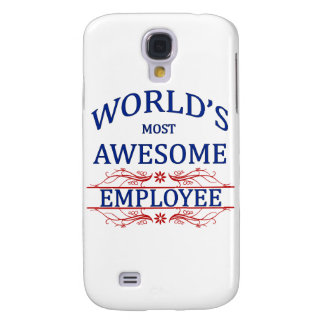 World's Most Awesome Employee Samsung S4 Case