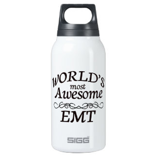 World's Most Awesome EMT Insulated Water Bottle
