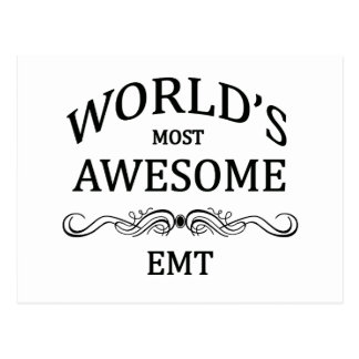 World's Most Awesome EMT Post Card