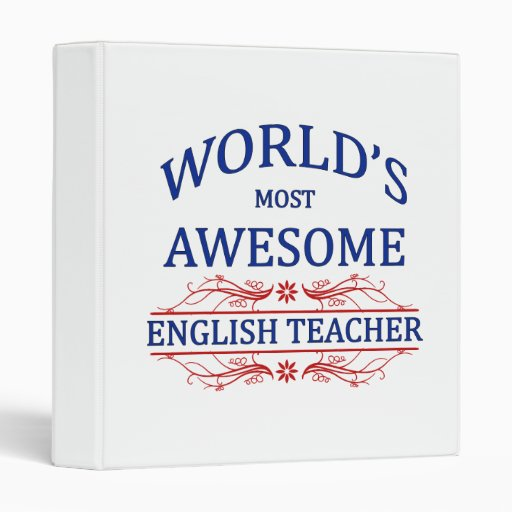 World 39 s most awesome english teacher binder for Awesome englisch