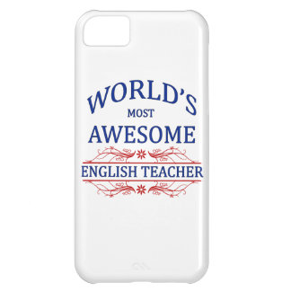World's Most Awesome English Teacher Case For iPhone 5C